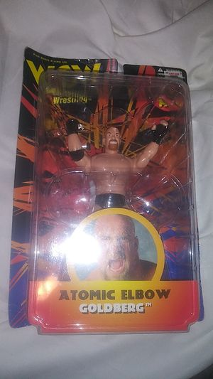 WCW 1998 Goldberg Atomic Elbow Action Figure for Sale in Turlock, CA