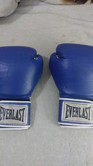 Everlast punching gloves for Sale in Burbank, WA