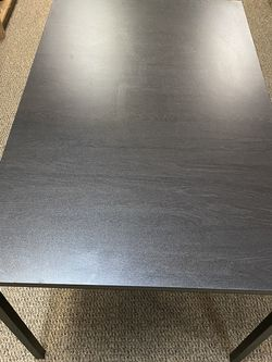 Table Dining Desk Large Brown Metal Base for Sale in Gainesville,  FL