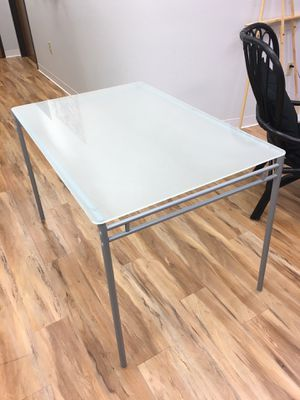 Glass top desk for Sale in Mansfield, TX