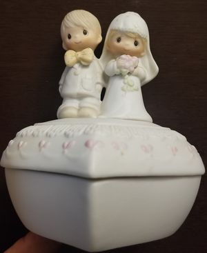 1981 Precious Moments The Lord Bless You and Keep You #E-7167 Trinket Jewelry Box for Sale in Spring Valley, CA