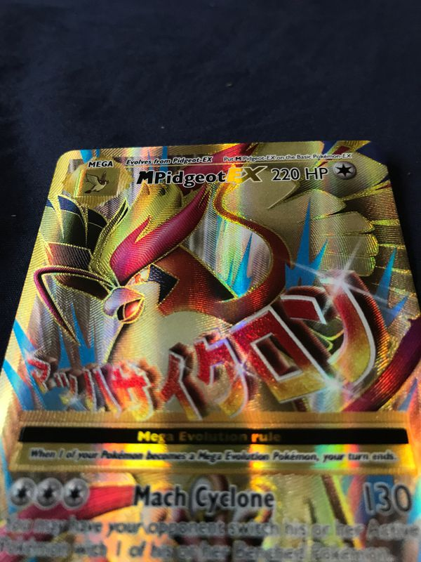 Mint Condition Mega Pidgeot EX