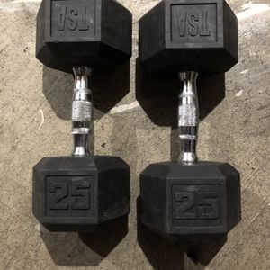 25 Pound Dumbbells for Sale in Bellevue, WA