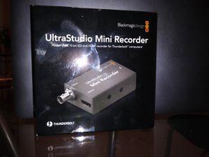UltraStudio Mini Recorder for Sale in Inkster, MI