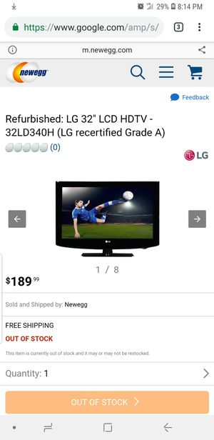 $65 32 inch lg hd tvs a few to go for Sale in Penn Hills, PA