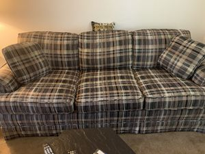 Couch - free - I think it's very comfortable for Sale in Bethel Park, PA