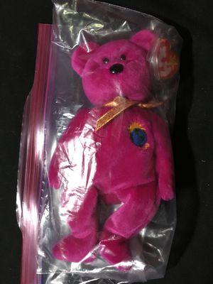 1999 Collector's Millennium Beanie Baby Misprint for Sale in Santee, CA