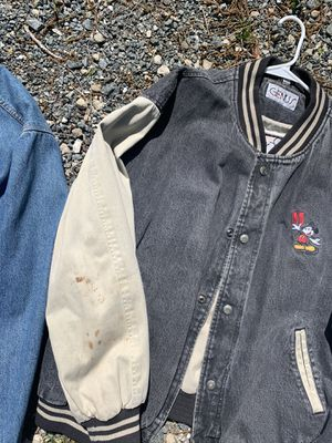 Vintage Mickey Mouse letterman for Sale in Tallahassee, FL