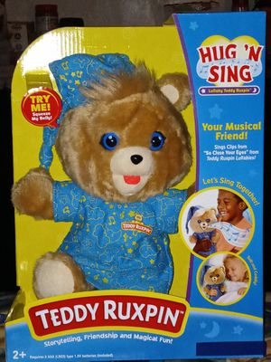 Hug and sing Teddy Ruxpin for Sale in Anaheim, CA