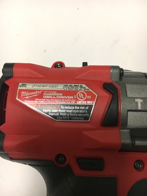 Milwaukee hammer drill Fuel tool only for Sale in Corona, CA