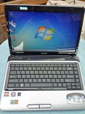 """Toshiba Satellite 14"""" laptop, mint, Win7, 500GB, 4GB RAM, HDMI for Sale in La Mesa, CA"""