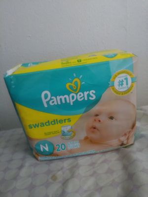 Pampers diapers for Sale in Norfolk, VA
