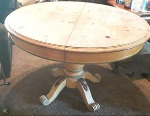 antique pedestal table for Sale in Pine Bluff, AR