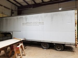 1981 Rancho Double Axle 5th Wheel Enclosed Trailer for Sale in Tacoma, WA