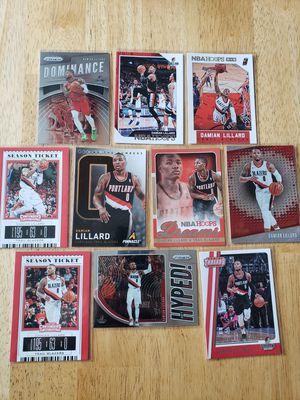 Damian Lillard Portland Blazers NBA basketball cards for Sale in Gresham, OR