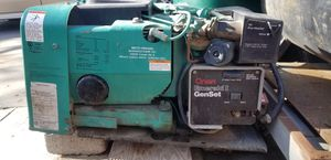 Onan emerald one 4 k generator low hours with add on fuel pump for Sale in Riverton, UT
