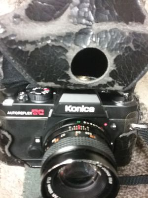 Vintage Konica 35-mm film camera. for Sale in San Luis Obispo, CA
