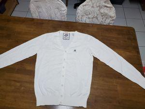 Diesel tricot white cardigan. XL for Sale in Anaheim, CA