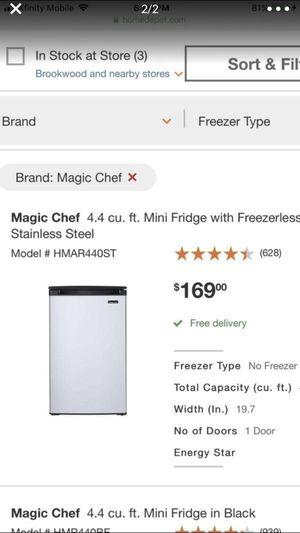 Home Depot brand room refrigerator 4.4 cu ft for Sale in Johns Creek, GA