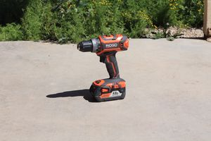 Rigid Cordless Drill with LED for Sale in Goodyear, AZ