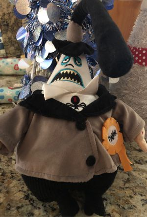 """Disney's A Nightmare Before Christmas """"The Mayor"""" plush doll new with tags for Sale in Redlands, CA"""