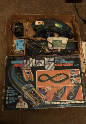 AFX AURORA ultra 5 slot car set for Sale, used for sale  Langhorne, PA
