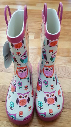 NEW Timbee Girls Rain boots size 2 for Sale in East Greenbush, NY