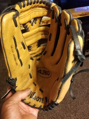 Wilson A360 baseball glove for Sale in Novi, MI
