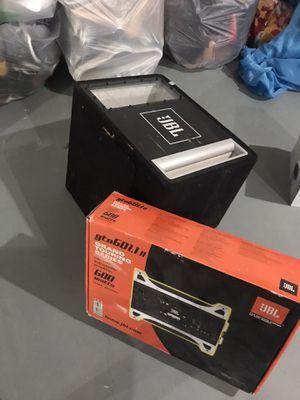 JBL Subwoofer & Amplifier for Sale in Macomb, MI