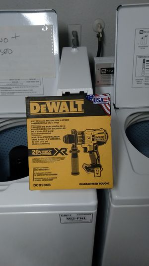 Dewalt brushless 3-speed hammerdrill for Sale in Seattle, WA