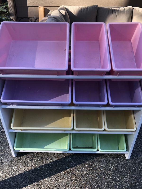 Kids toy storage