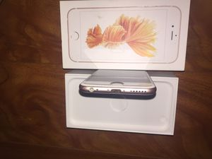 Factory unlocked IPhone 6S 64gb- Rose Gold for Sale in Tacoma, WA