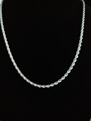 Sterling silver 925 marked twisted necklace. Brand new for Sale in Panama City Beach, FL