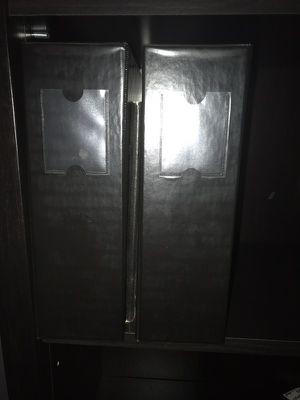 """Black 4"""" binders for Sale in Manassas, VA"""