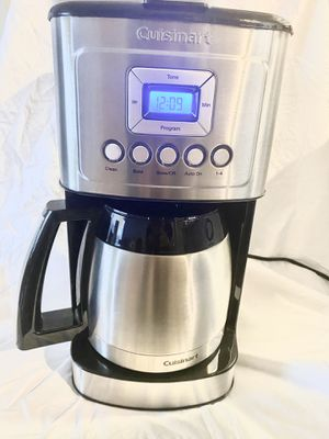 Cuisinart coffee maker 12 Cup Carafe, Silver for Sale in Las Vegas, NV