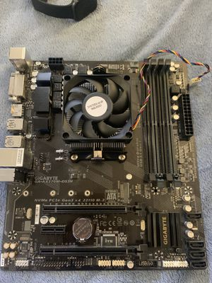 Gigabyte GA AX370M DS3H AM4 Motherboard for Sale in Virginia Beach, VA