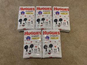 Size 1 diapers for Sale in Lockbourne, OH