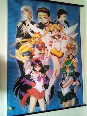 Sailor Moon poster! for Sale in Chandler, AZ