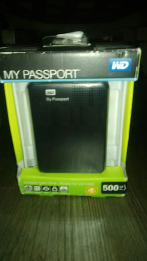 WD my passport for Mac 500gb for Sale in Los Alamitos, CA