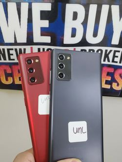 GALAXY NOTE 20 5G UNLOCKED FOR ALL CARRIERS INTERNATIONAL 128GB TMOBILE METRO CRICKET ATT for Sale in Garland,  TX