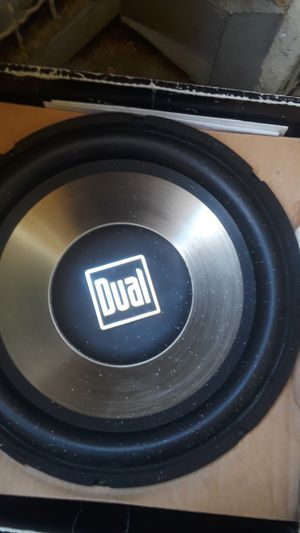 Car 12 subwoofer big sale 30 for Sale in Claremont, CA