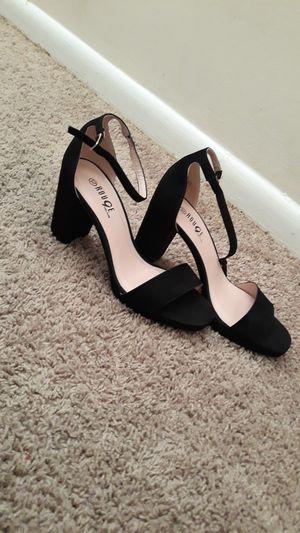 Size 10 m black high heels never worn for Sale in Rockville, MD