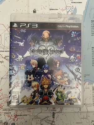Kingdom Hearts HD 2.5 II.5 Remix Playstation 3 PS3 Video Game for Sale in Chula Vista, CA