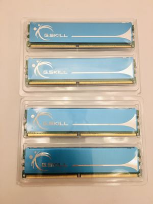 G.SKILL 4GB (4x 1GB) Computer Desktop Ram Memory Drives Laptop Accessories for Sale in Spring Hill, FL