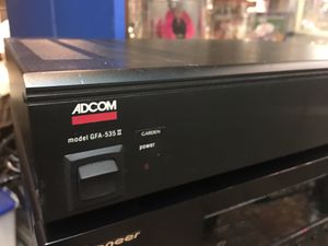 Adcom GFA 535 Class A Audiophile Stereo Amplifier for Sale in Cumberland, RI