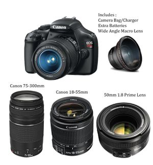 Canon T3i with Extra Lens for Sale for sale  New York, NY
