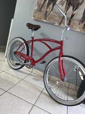 Bike big boss beach crusier bike rim 26 frame large for Sale in Hialeah, FL