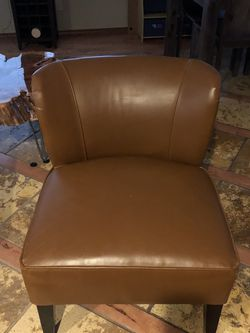 Camel Leatherette Chair for Sale in Boring,  OR