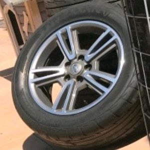 """17""""INCH MUSTANG RIMS WITH TIRES 235/55/17 GOOD CONDITION for Sale in Ontario, CA"""