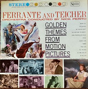 "Ferrante and Teicher Nick Perito ""Golden Themes From Motion Pictures"" Vinyl Album $10 for Sale in Ringgold, GA"